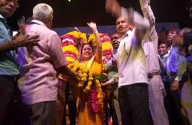 उत्तराखंड की राज्यपाल बेबीरानी मौर्य के स्वागत से बड़े राजनीतिक बदलाव के संकेत, देखें वीडियो