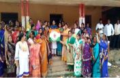 आज लांच किया गया महिला कांग्रेस का झंडा, देखें वीडियो