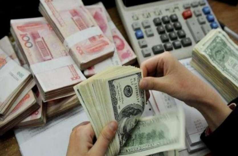 10 महीने के बाद 400 अरब डॉलर से कम हुआ विदेशी मुद्रा भंडार