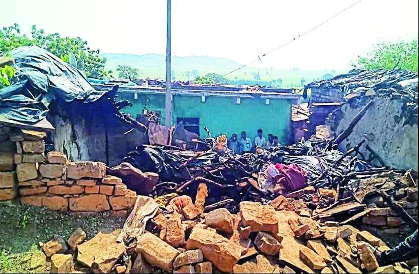 Breaking : पाटौर गिरने से मासूम की मौत,चार लोग घायल