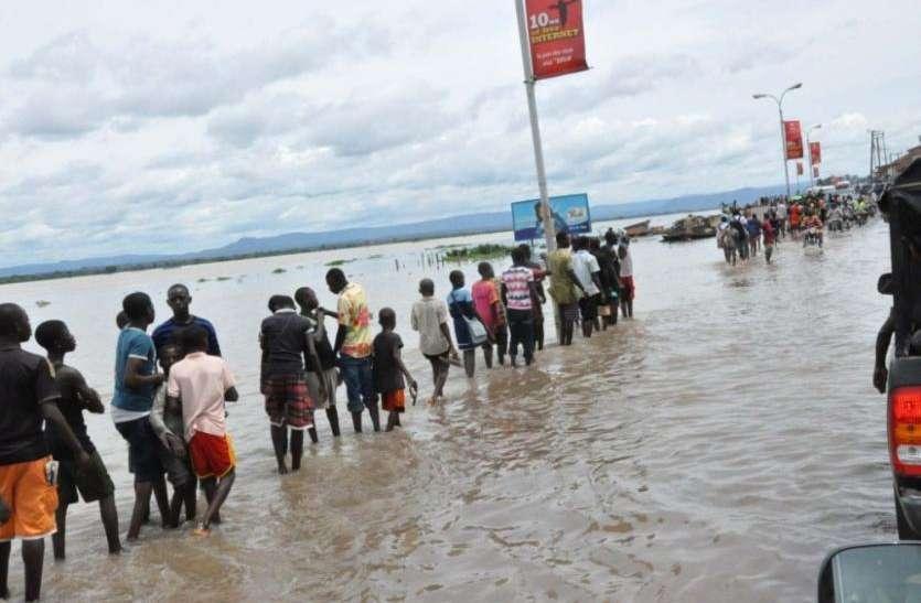 नाइजीरिया में भीषण बाढ़, 30 हजार से अधिक लोग बेघर