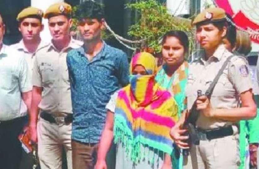 दृश्यम फिल्म से प्रभावित भाभी ने देवर के साथ मिलकर की पति की हत्या, पकड़ाए