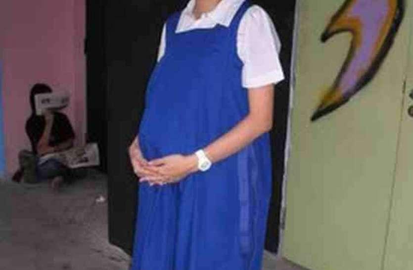 8वीं की छात्रा को किराएदार के किशाेर बेटे ने बनाया गर्भवती, ऐसा खुला राज
