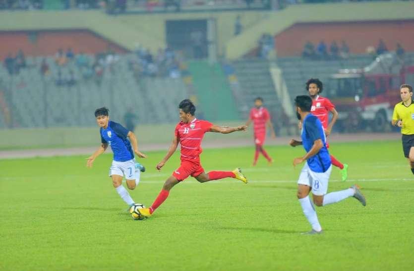 Saif Cup : फाइनल में मालदीव से 1-2 से हारा भारत