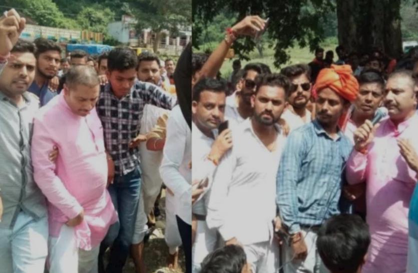 SC-SC एक्ट के विरोध में शेर सिंह राणा की पद यात्रा शुरू, भीम आर्मी कार्यकर्ताओं से टकराव की आशंका