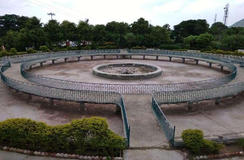 कभी था गुलजार निवाई का शिवाजी पार्क, नगर पालिका की अनदेखी से हो रहा र्दुदशा का शिकार