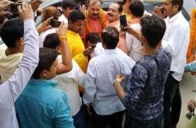 लोकसभा चुनाव के पहले बीजेपी ने दी इस नेता को बड़ी जिम्मेदारी, इस तरह हुआ स्वागत
