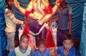 Ganesh Ji Photos: आंचल में विराजे गणराज