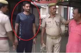 विवाद के बाद पुलिस ने फौजी को लात-घूंसे से जमकर पीटा, देखें वीडियो