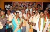Photo Gallery : प्रधानमंत्री नरेंद्र मोदी के जन्म दिवस पर श्रमवीरों का सम्मान.