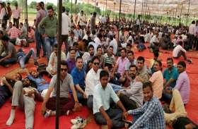 बिजली कर्मचारी-अभियंता अवकाश लेकर जयपुर में डटे, बिजली सिस्टम राम भरोसे