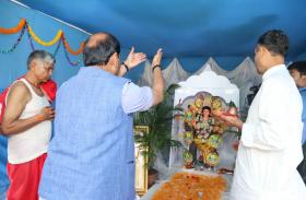 विश्वकर्मा पूजा को लेकर राज्यभर में उत्साह व उमंग का माहौल,सीएम आवास पर भी हुआ भव्य आयोजन
