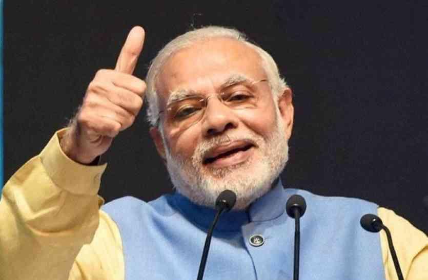 पटना:प्रधानमंत्री नरेन्द्र मोदी के जन्मदिन पर भाजपा ने मनाया जश्न