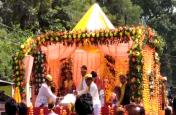 गणपति बप्पा मोरयाए अगले वर्ष तू जल्दी आ के जयकारों के उड़ा गुलाल