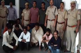 पुलिस की बड़ी कार्रवाई, अवैध हथियारों सहित पकड़ी शराब