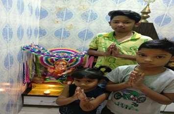 Photo Gallery : सेल्फी विथ माय गणपति, हर घर में विराजे गणेशजी, देखें फोटो
