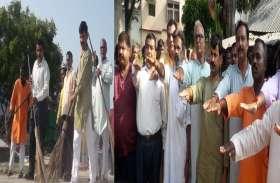 पीएम मोदी के जन्मदिन पर कार्यकर्ताओं ने लिया बड़ा संकल्प
