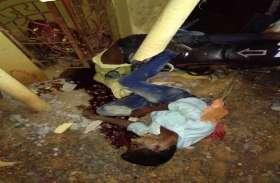 अनियंत्रित बाइक मंदिर में जा घुसी, दो की मौत, एक रायगढ़ रिफर