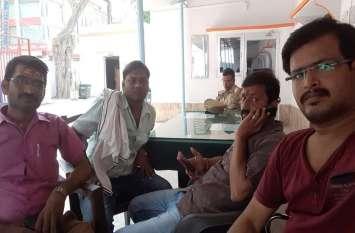 कांग्रेसियों से सहमा शासन-प्रशासन, युवाशक्ति को भेजा हवालात