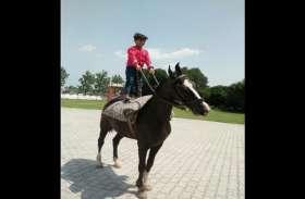 मिलिए महज 7 साल के इस लड़के से,इतनी कम उम्र में घोड़े पर बैठ करता है हवा से बातें