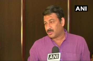 भाजपा का अनधिकृत सीलिंग के खिलाफ विरोध जारी रहेगा: मनोज तिवारी