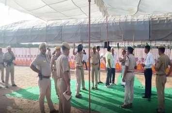 Amit Shah के विरोध की आशंका के चलते छावनी बना नागौर, Hanuman Beniwal सहित कई संगठनों दी है चेतावनी