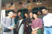 रायबरेली में पहुंची 7 सदस्यीय अमेरिकी टीम, शिवगढ़ केएमसी लाउंज व चितवनियां गांव का किया भ्रमण