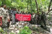 सीआरपीएफ को सर्च अभियान में मिली बड़ी कामयाबी,बुलबुल जंगल से भारी मात्रा में विस्फोटक बरामद