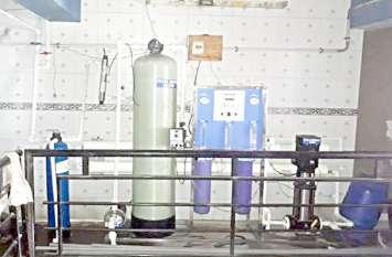 बिस्टल वाटर प्लांट की दो यूनिट सील
