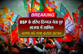 Breaking: BSP के वरिष्ठ दिग्गज नेता हुए भाजपा में शामिल, बसपा को लगा करारा झटका