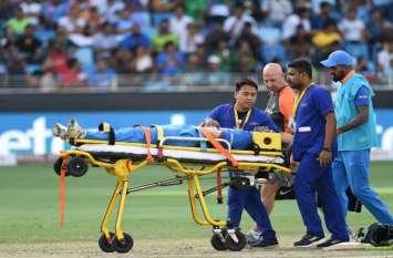 Asia cup 2018 : पाकिस्तान के खिलाफ यह खिलाड़ी हुआ गंभीर रूप से हुआ घायल, अब बीसीसीआई ने जारी की रिपोर्ट