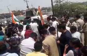 कांग्रेसियों पर पुलिस ने बरसाईं लाठियां तो बिफरे भूपेश, पहुंचे दिल्ली, कार्यकर्ताओं ने किया पूरे प्रदेश में प्रदर्शन