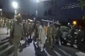 मुहर्रम को देखते हुए डीआईजी और एसपी ने जारी किया ये आदेश, किया भारी पुलिस बल के साथ फ्लैग मार्च