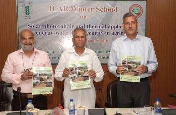 सौर ऊर्जा पर आधारित 21 दिवसीय प्रशिक्षण शुरू