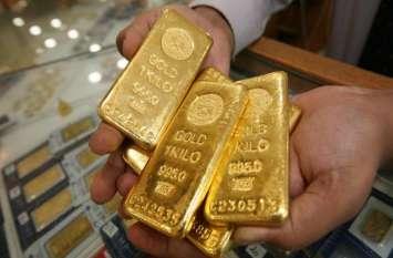 सोना-चांदी का भाव, ढार्इ माह के उच्चतम स्तर पहुंच गया सोना, चांदी भी 300 रुपये हुर्इ महंगी