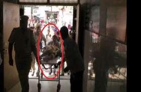 आजमगढ़ में पुलिस और अपराधियों के बीच मुठभेड़, इनामी अपराधी कलीम को लगी लगी, दारोगा भी घायल