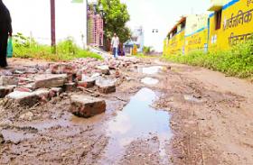 भाजपा विधायक को मिले ज्यादा वोट फिर भी सड़के जर्जर
