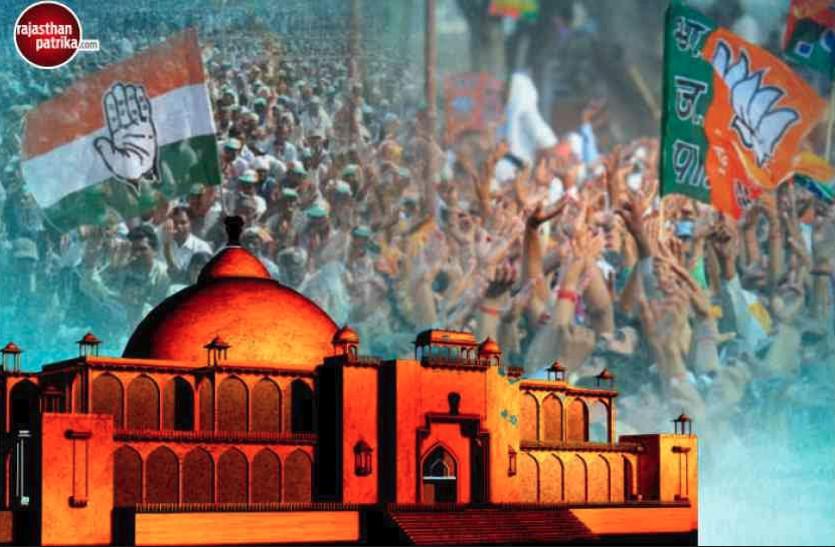 पत्रिका पहुंचा उन क्षेत्रों में जहां 2013 के विधानसभा चुनाव में भाजपा व कांग्रेस ने सर्वाधिक वोट लेकर की थी विजयश्री हासिल