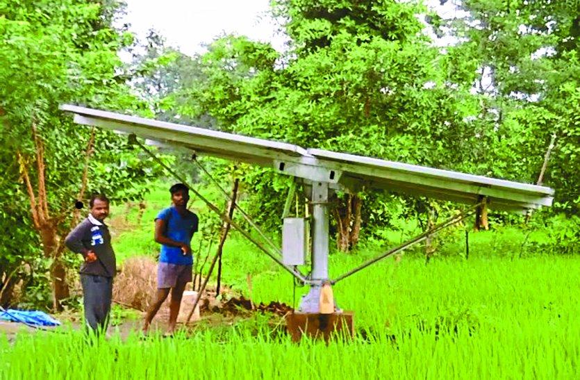 सौर सुजला योजना से छत्तीसगढ़ में बढ़ा धान और मक्का का उत्पादन, किसानों को राहत