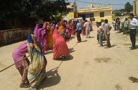 ग्रामीण महिलाओं ने दिखाया रस्साकस्सी में दिखाया दम