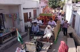 रामदेव की निकाली शोभायात्रा, उमड़े भक्त