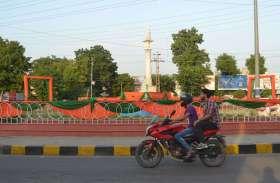 मुख्यमंत्री की गौरव यात्रा से पूर्व सजाया गया अलवर शहर, सडक़ें भी चमकाई, देखें तस्वीरें