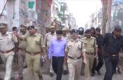 मोहर्रम से पहले एक्शन में पुलिस, शांति व्यवस्था को लेकर निकाला फ्लैग मार्च