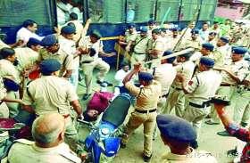 कांग्रेसियों पर लाठीचार्ज मामले में CM ने की कार्रवाई, ASP नीरज चन्द्राकर को हटाया, PHQ में हुए अटैच