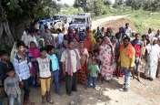 जिलवानी में कचरा फेंकने से ग्रामीणों ने रोका