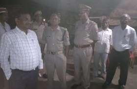यूपी में ताजिया रखने को लेकर दो पक्ष आमने सामने, भारी संख्या में पुलिस फोर्स तैनात