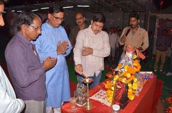 नागौर में मेगा ट्रेड फेयर शुरू, कलक्टर कुमारपाल गौतम ने किया शुभारम्भ