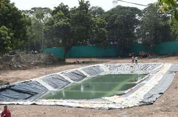 PICS : विसर्जन के लिए २२ कृत्रिम तालाब