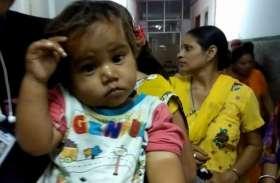 VIDEO : मासूम को पालनाघर में छोड़ गया अज्ञात व्यक्ति