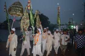 कर्बला की याद में शहर में निकाला गया मातमी जुलूस